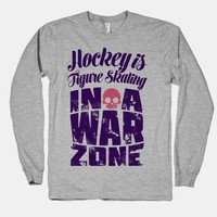 Hockey Is Figure Skating In A War Zone