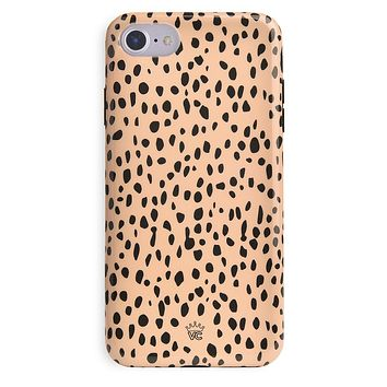 Spotted Nude Cheetah iPhone Case