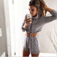 Stylish Fashion Women's Fashion Sportswear Set [4920536708]