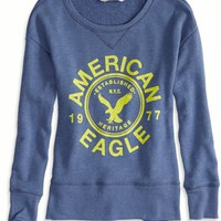 AEO Women's Graphic Crew Sweatshirt
