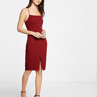 t-back sheath dress