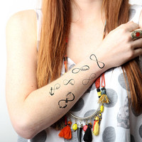 Forever Young Set - Temporary Tattoo (Set of 12)
