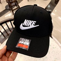 NIKE 2019 new hook three-dimensional embroidery couple baseball cap cap black