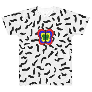 Squiggle Butterfly Tee