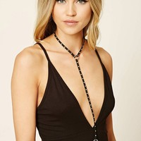 Faux Suede Body Chain