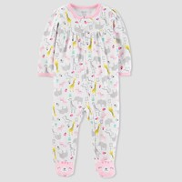Baby Girls' Safari Sleep N' Play - Just One You™ Made by Carter's® Yellow