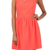 Solid a-line dress - New arrivals