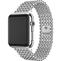 Apple Watch Band Minimal Stainless Steel Metal