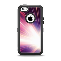 The Pink Rays of Light Apple iPhone 5c Otterbox Defender Case Skin Set