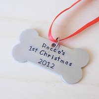 Puppy's First Christmas Ornament