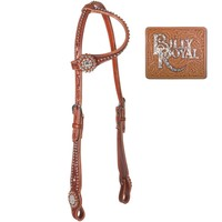 Billy Royal® Bling Crystal Concho One Ear Bridle in Bling Tack