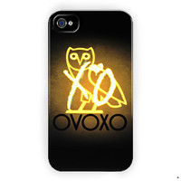 Drake Weeknd Xo Ovo Ovoxo Design For iPhone 4 / 4S Case