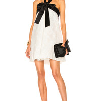 Zimmermann Winsome Suspend Bow Dress in Pearl | FWRD
