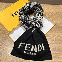 Fendi   Trending Fashion  Embroider Easy to match Silk Scarf