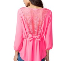 Bow Out Blouse