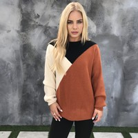 Conflicted Views Knit Sweater