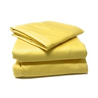 Tache 2-3 Piece 100% Cotton Solid Banana Yellow Duvet Cover Set (TA2-3PDUV-YB)