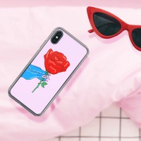 Rose Monster iPhone Case