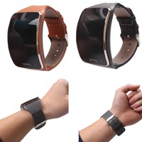 Genuine Leather Watch Wrist Strap Band For Samsung Gear Accessories