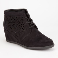 Qupid Race Womens Booties Black  In Sizes