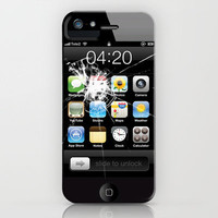 iPhone4 Broken (follow link below for iPhone5) iPhone Case by Nicklas Gustafsson | Society6