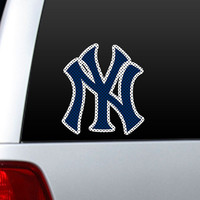New York Yankees Die-Cut Window Film - Large
