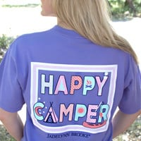 Jadelynn Brooke Happy Camper - Preppy Purple - SS
