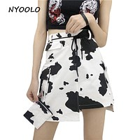 NOT YOUR MOTHERS MOO MOO COW SKIRT