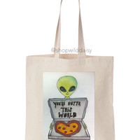 You're Outta This World Tote