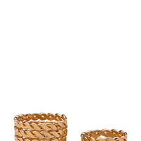 FOREVER 21 Etched Midi Ring Set