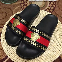 Versace Woman Men Fashion Slipper Sandals Shoes