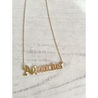 P&M Zodiac Sign Necklaces