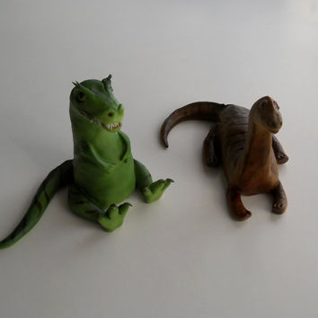 Dinosaur cake topper set, Jurrasic park