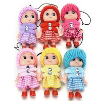 Kawaii Kids Toys Soft Interactive Baby Dolls Toy Mini Doll For Girls Free Shipping