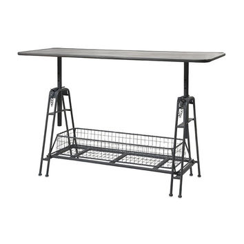 Iron Adjustable Metal Work Table | Free Shipping
