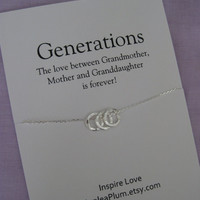 GRANDMA. Mom Jewelry. Gifts for Grandma. Birthday Gift for Her. Sisters Necklace. Wedding Gifts for Mom. Grandmother jewelry. Grandma Gift