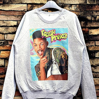 Fresh Prince Of Bel Air, Will Smith Sweatshirt Crewneck Sweater Unisex