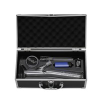 Dude Layback Glass Bong Set in Aluminum Case - Small