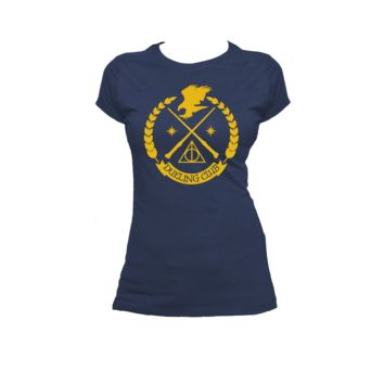 Ravenclaw Dueling Club Ladies or Mens T Shirt, Harry Potter, Nerd Girl Tees