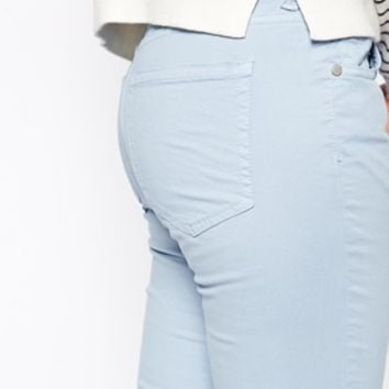 French Connection Flora Cotton Ligh Blue Skinny Jeans