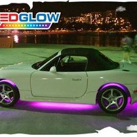 Universal LED Glow Pink LED Underbody Light Kit with Wireless Remote - LU-S04 by LED Glow