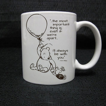winnie the pooh love quotes for mug two side