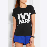 Beyonce Women T Shirt Clothes IVY Park Letter Print Tee Tops 2016 Summer Woman T-shirts Cotton Camiseta Mujer T-shirt QA1050