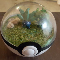Pokeball Diorama, Grass Theme (Small)