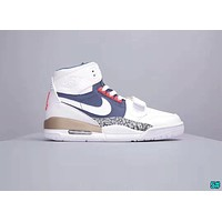 Nike Air Jordan Legacy 312 Fashion Men Casual High Top Sport Running Sneakers Basketball Shoes 5#