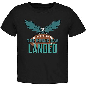 The Eagle Has Landed Football Toddler T Shirt