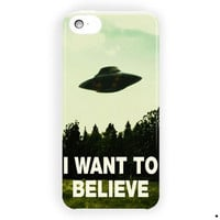 I Want To Believe The X Files Movie For iPhone 5 / 5S / 5C Case