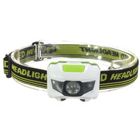 Waterproof 600Lm 4 Modes R3+2 LED Headlight 3xAAA Headlamp bike bicycle light with Headband