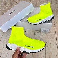 Balenciaga Woman Men Boots Fashion Breathable Sneakers Running Shoes-13