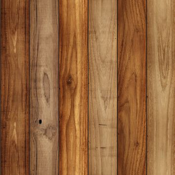 Removable Wallpaper - Wood Panel